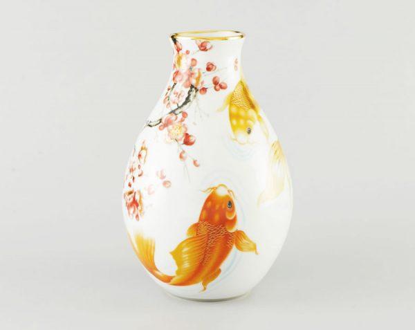 Bình Hoa Minh Long - Cá Chép 29cm x 18cm
