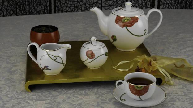 129+ Bộ trà gốm sứ đẹp| Giá bộ ấm chén Minh Long quận 8