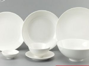 Bộ đồ ăn Minh Long Daisy Trắng 9 sản phẩm