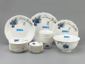 Bộ bàn ăn in logo quà 2/9 cho khách hàng
